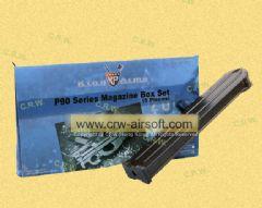 King Arms 300 Rounds Magazine for King Arms FN P90 Series (5pcs)